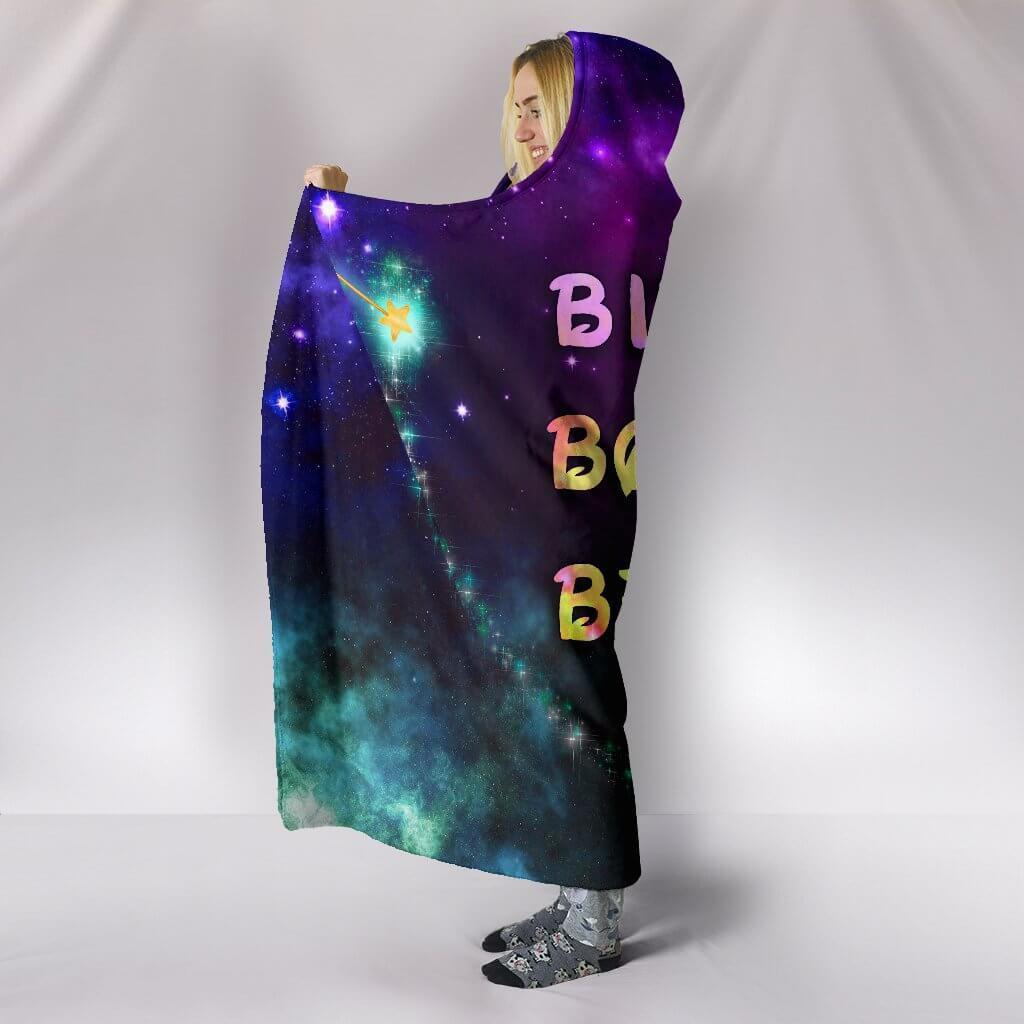 bippity boppity besties full printing hooded blanket 4