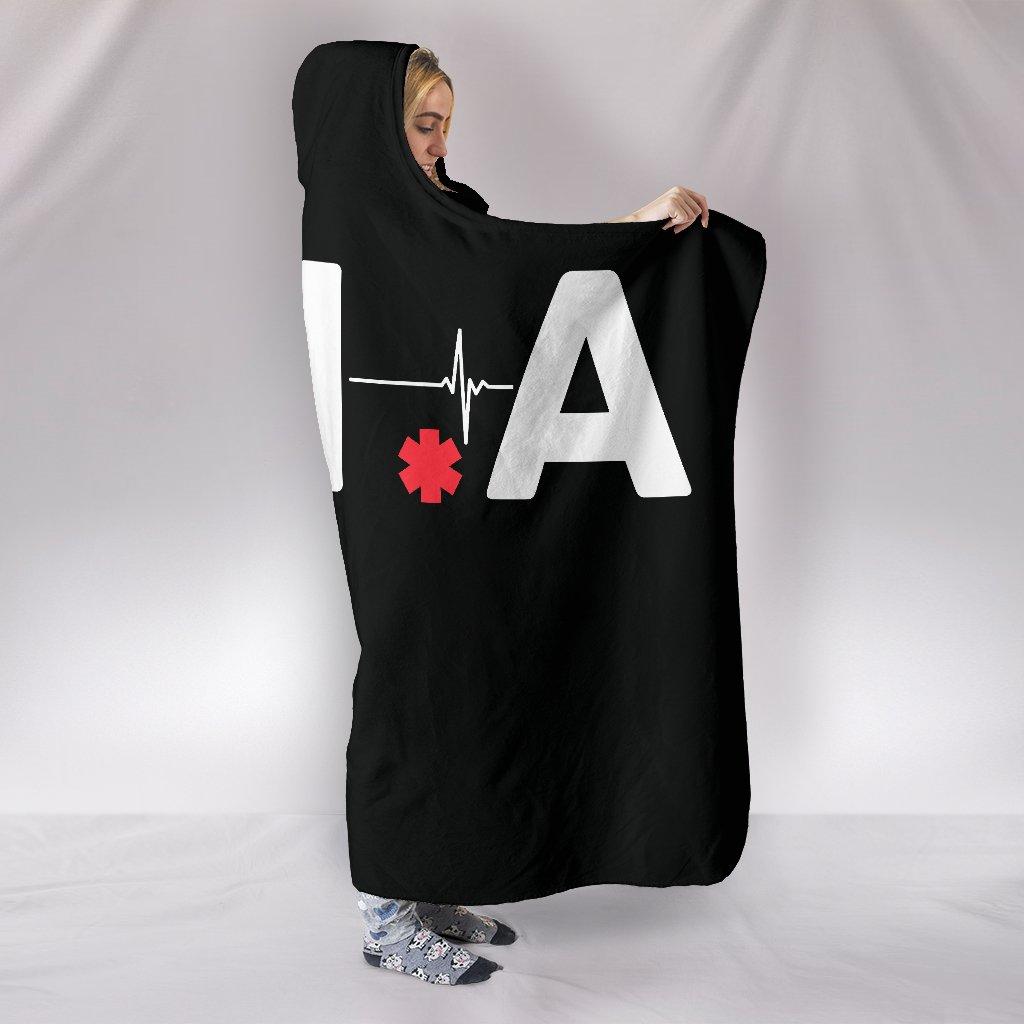 canadian nurses association full printing hooded blanket 2