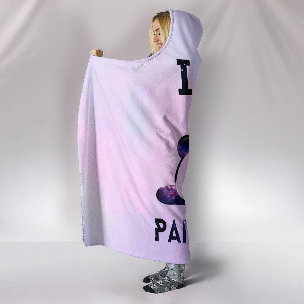 i am pandicorn full over print hooded blanket 4