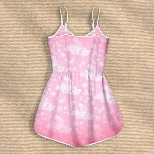 in october we wear pink pumpkin breast cancer rompers 3