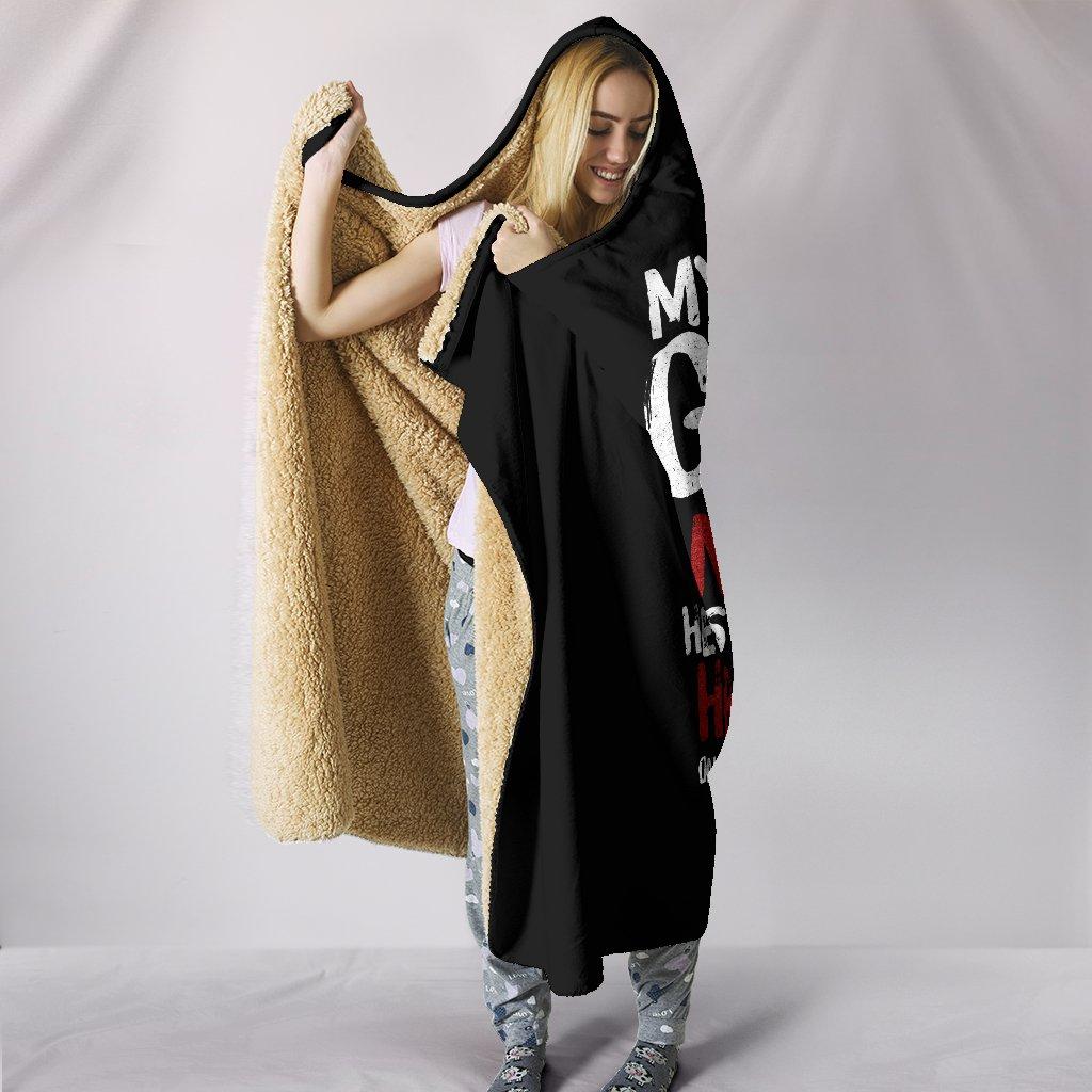 my God's not dead full printing hooded blanket 3