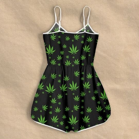 weed im blunt because god rolled me that way rompers 3