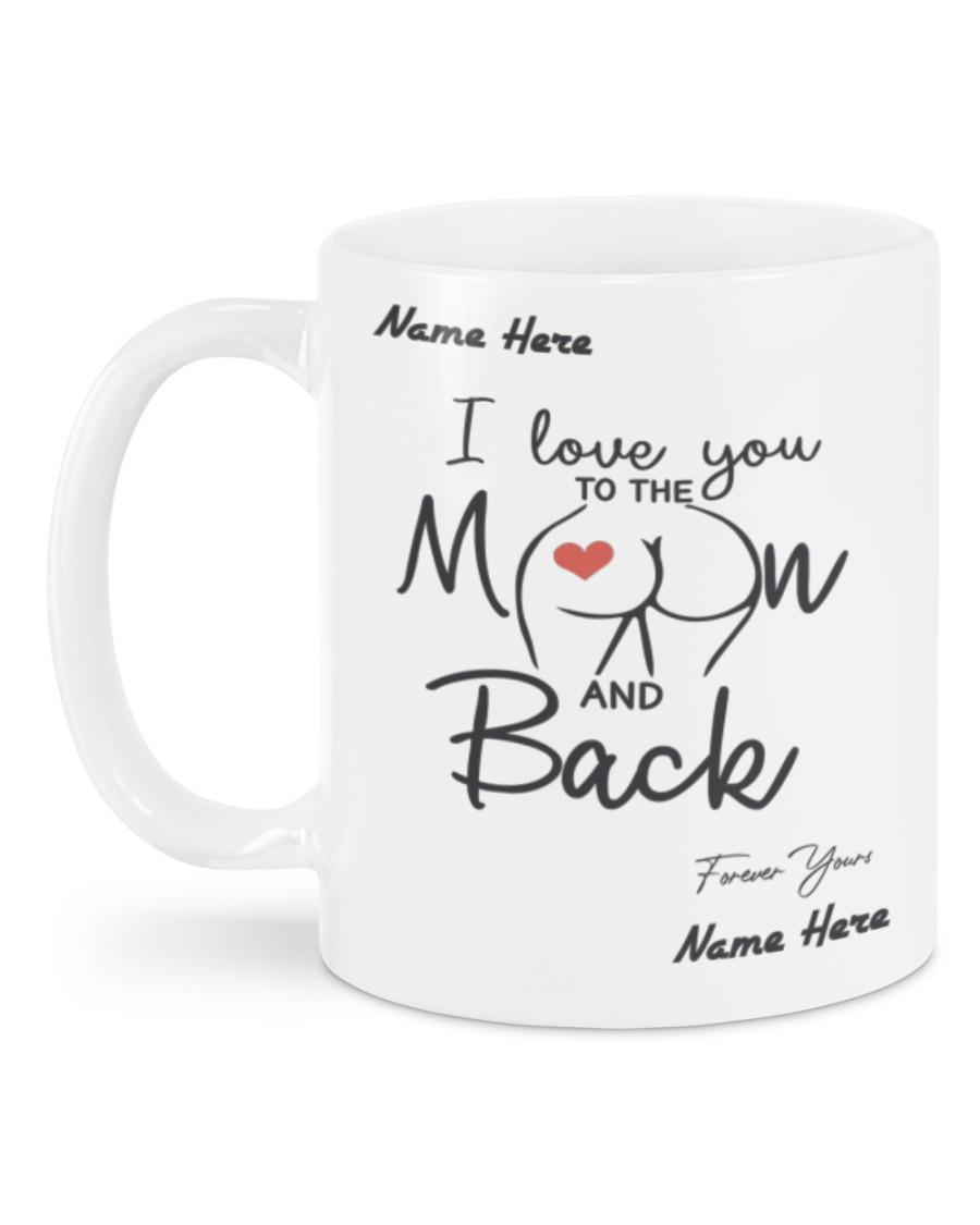 custom your name i love you to the moon and back mug 5