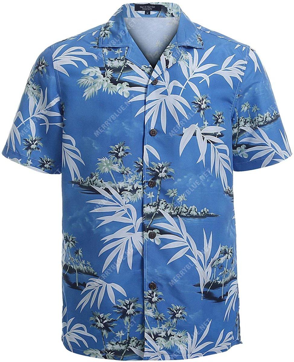 summer vibe tropical all over printed hawaiian shirt 3
