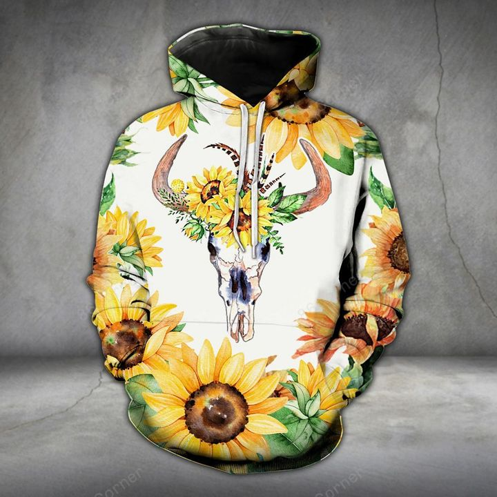 sunflower country cow all over printed shirt 1