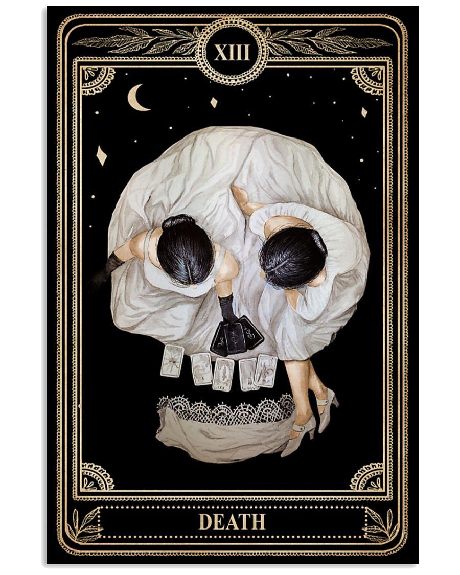 vintage tarot girls death card poster 1