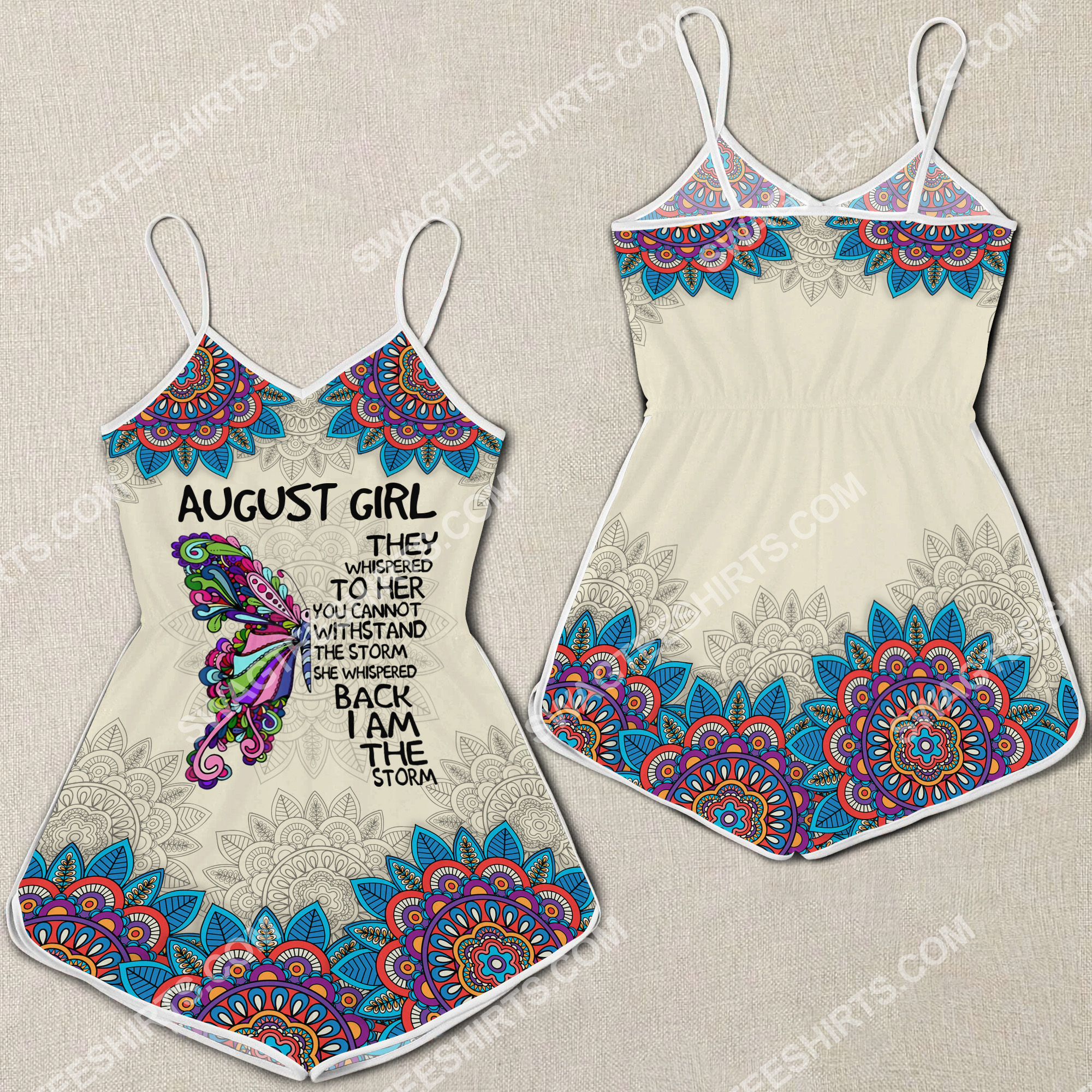 august girl they whispered to her you cannot withstand the storm rompers 2(1) - Copy