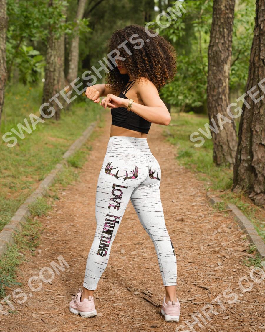 love hunting girl all over printed high waist leggings 4(1)
