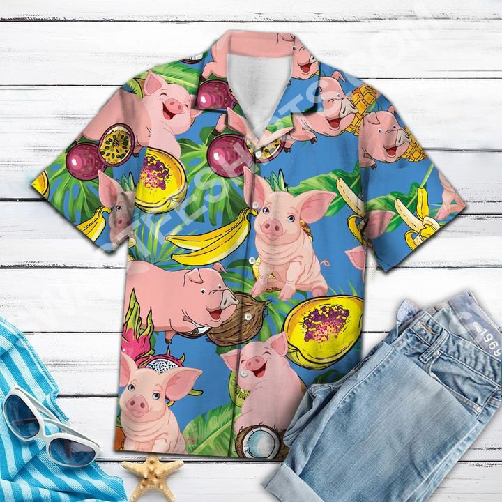 pig love fruit all over printed hawaiian shirt 3(1) - Copy