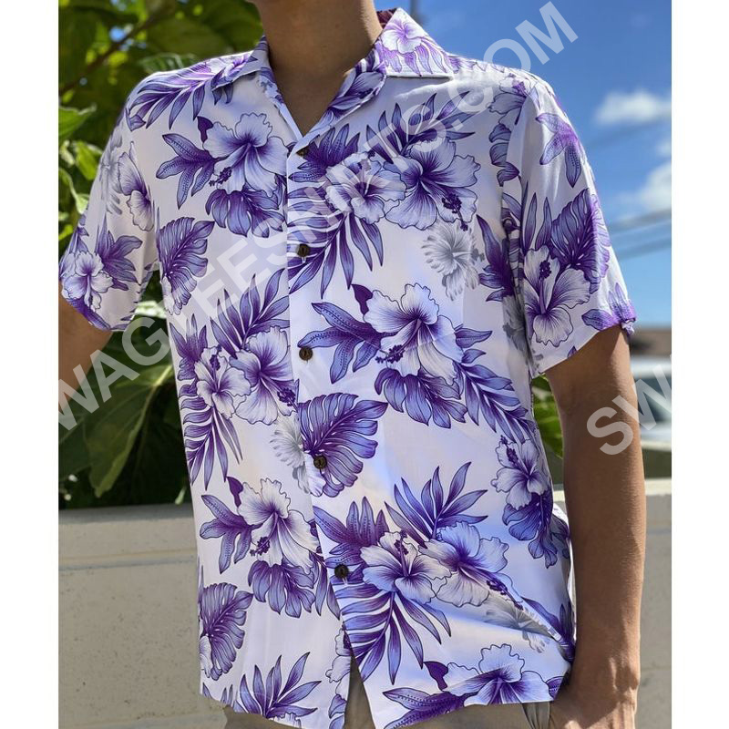 the hibiscus flower all over printed hawaiian shirt 2(1)
