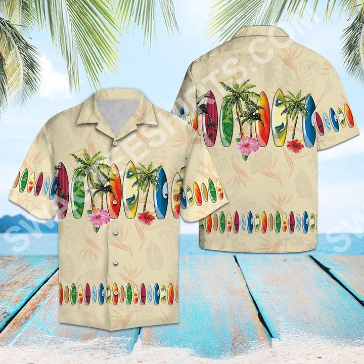 tropical surfboard all over printed hawaiian shirt 2(1)