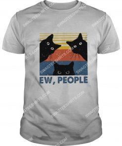 vintage ew people three black cats shirt 1(1)
