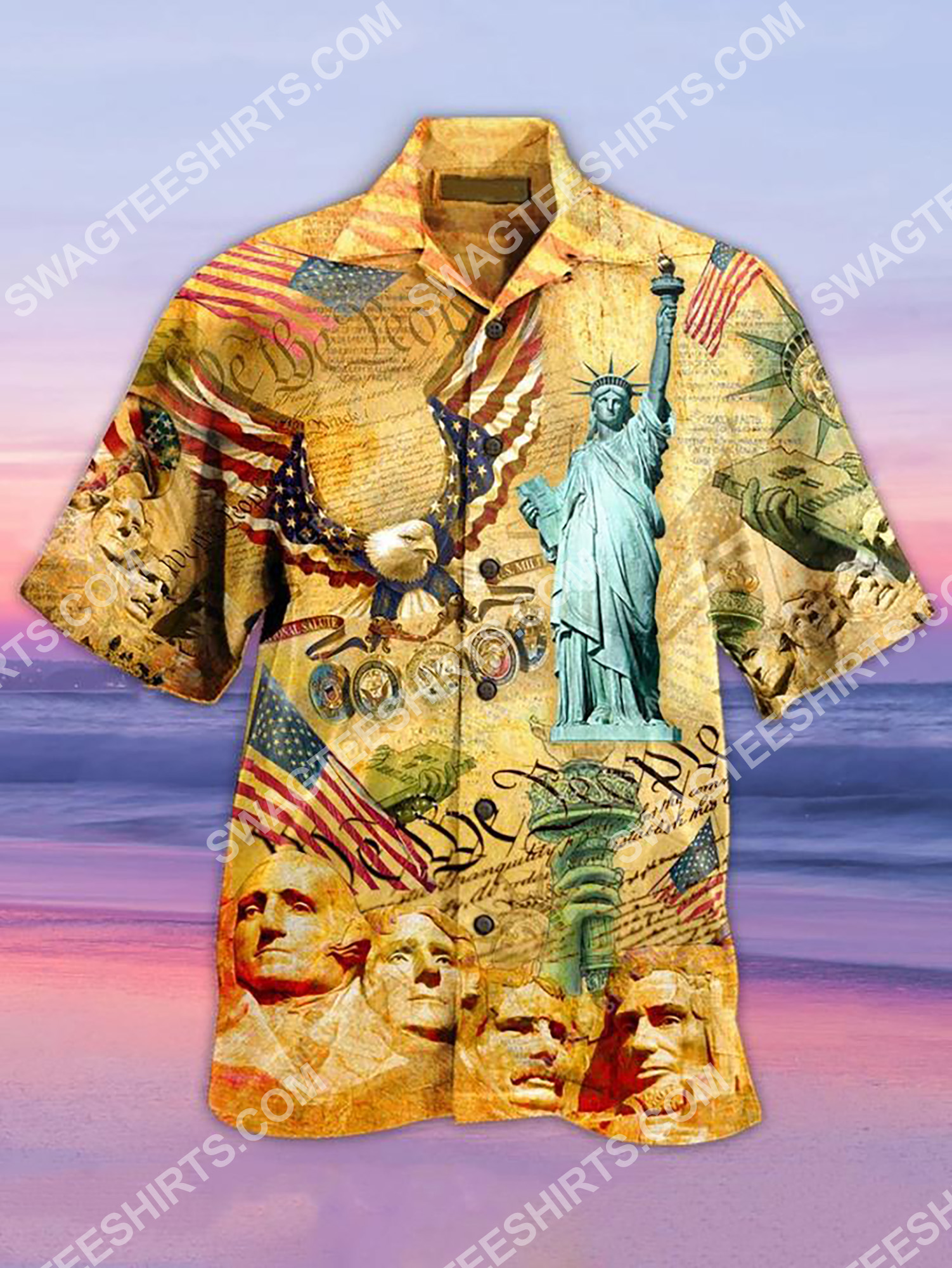 america's independence day all over printing hawaiian shirt 2(1) - Copy