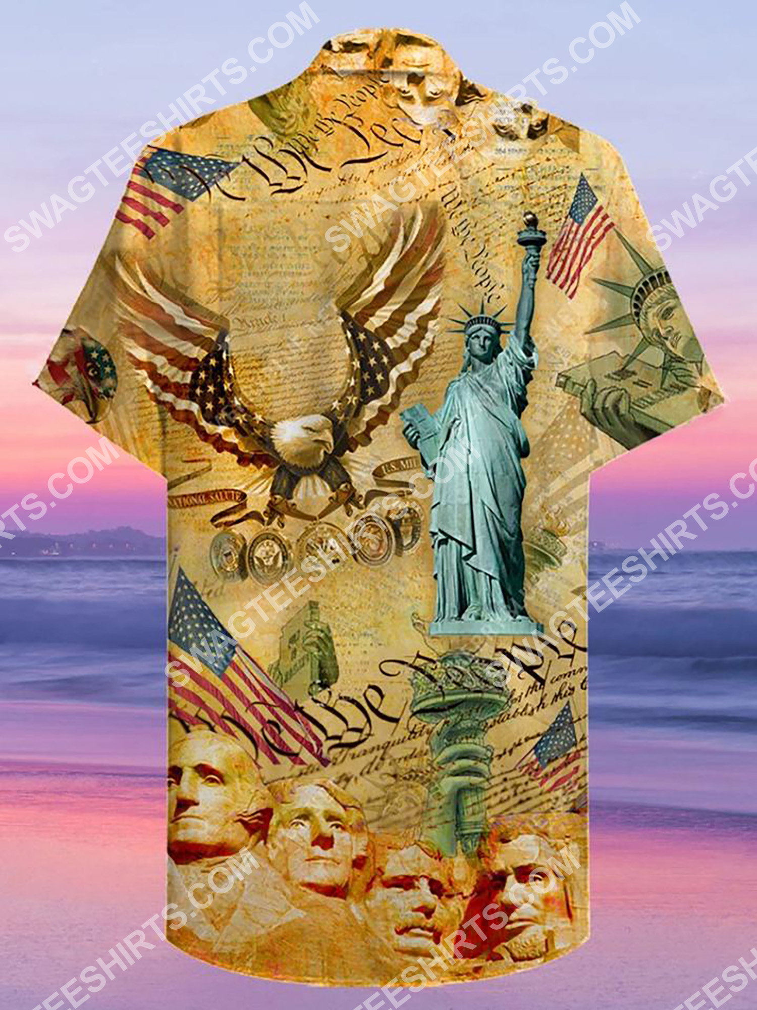 america's independence day all over printing hawaiian shirt 3(1)