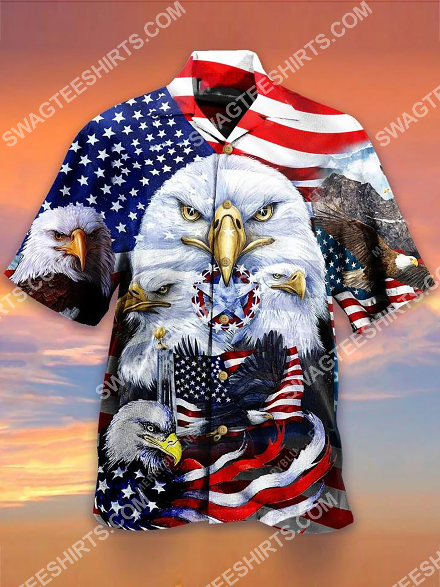 happy independence day all over printing hawaiian shirt 2(1)