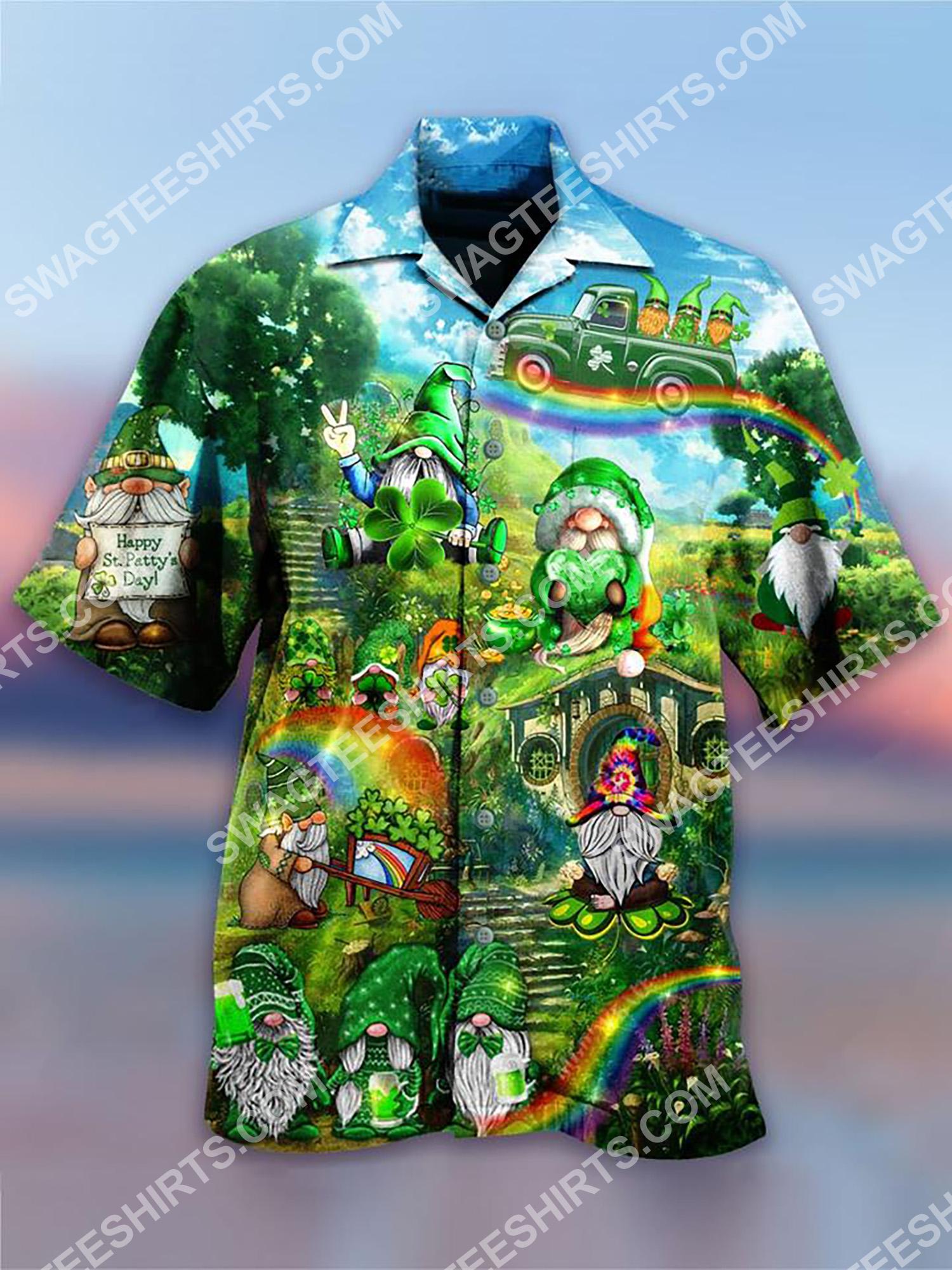 happy saint patrick's day all over printing hawaiian shirt 2(1)