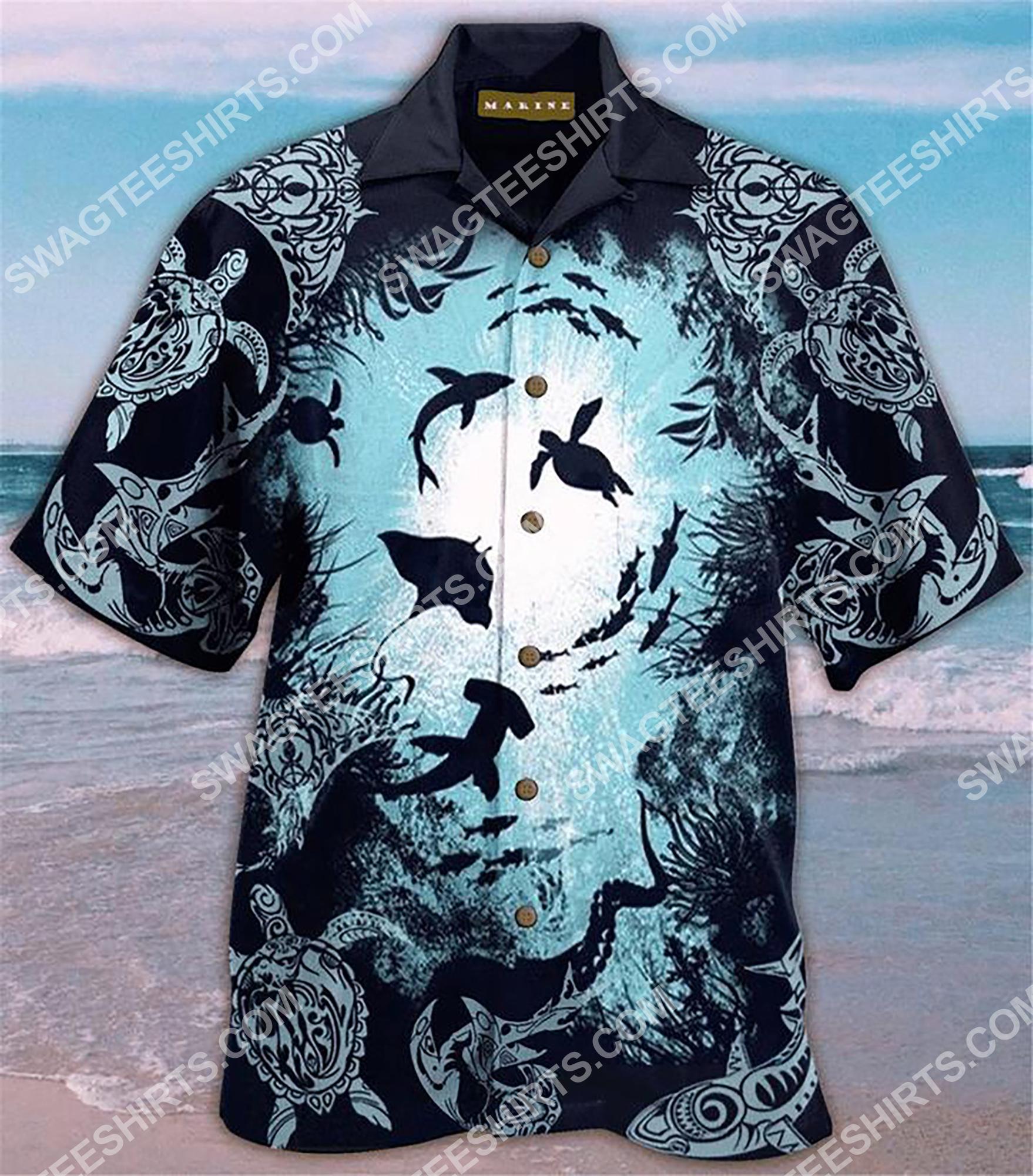 sea animals all over printing hawaiian shirt 2(1) - Copy