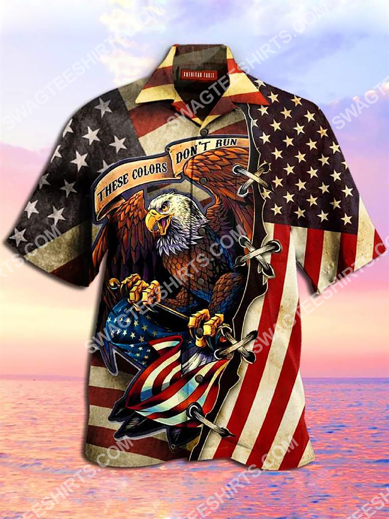 these colors don't run they reload america flag all over printing hawaiian shirt 2(1)