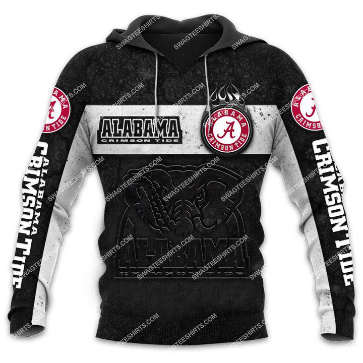 alabama crimson tide football team all over printed hoodie 1