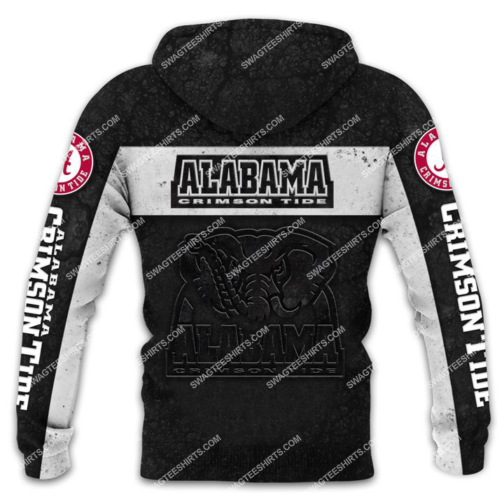 alabama crimson tide football team all over printed shirt - back 1