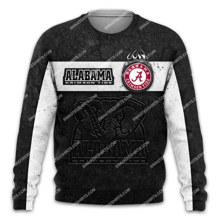alabama crimson tide football team all over printed sweatshirt 1