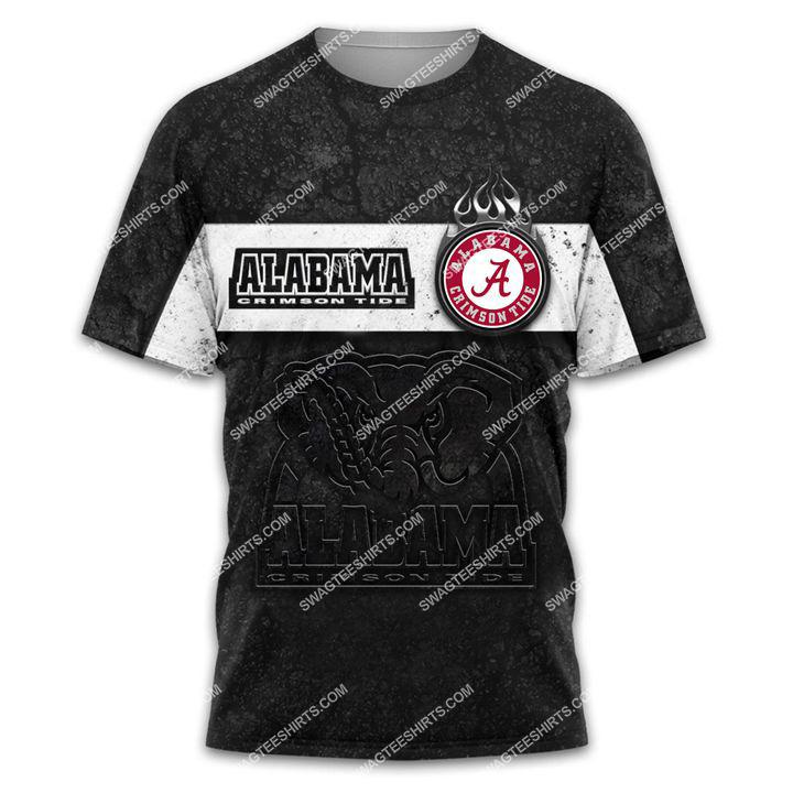 alabama crimson tide football team all over printed tshirt 1