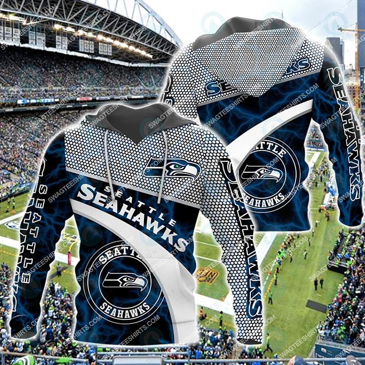 american football team seattle seahawks all over printed hoodie 1