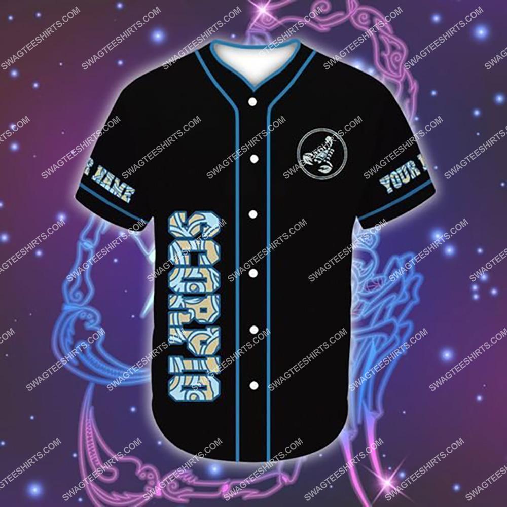 custom name i am a scorpio zodiac all over printed baseball shirt 2(1)