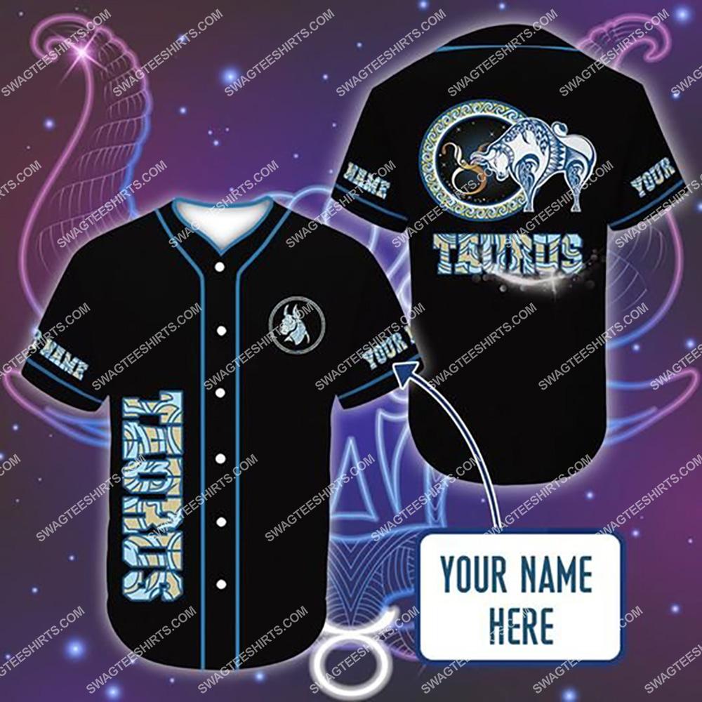 custom name i am a taurus zodiac all over printed baseball shirt 1(1)