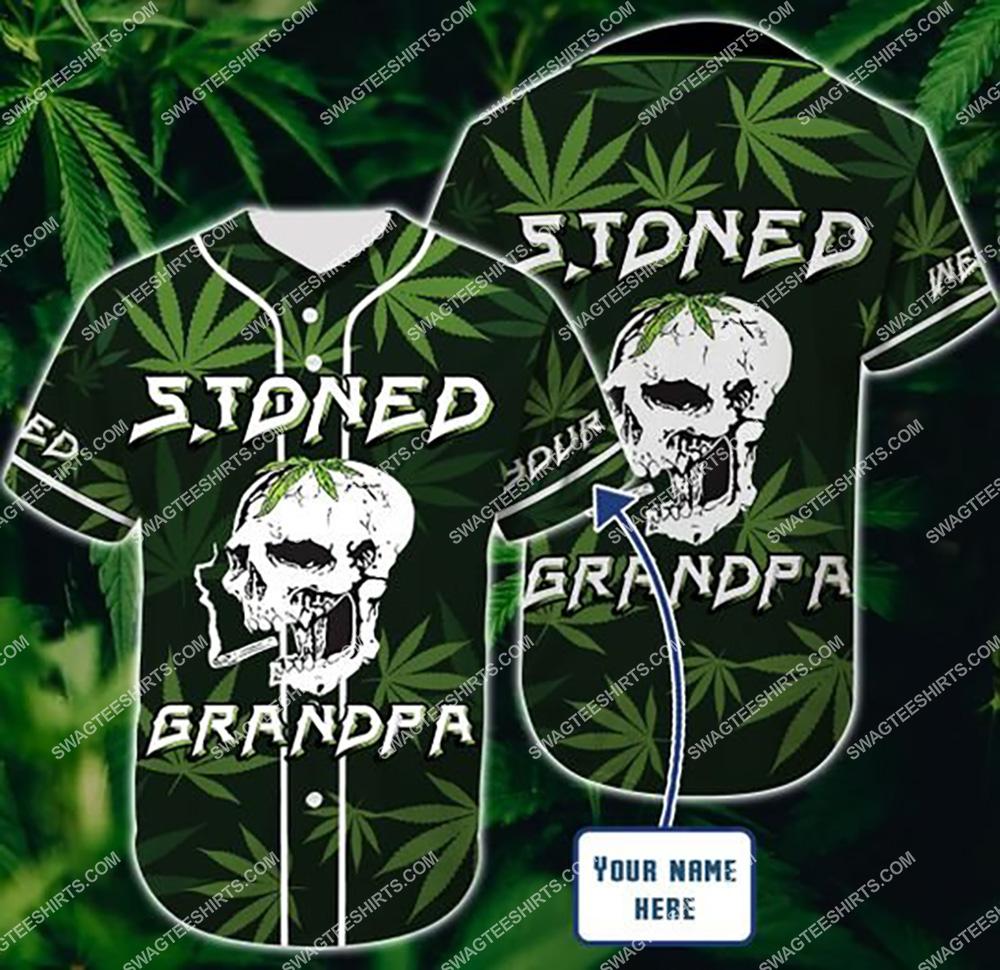 custom name stoned gift for grandpa all over printed baseball shirt 1(1) - Copy