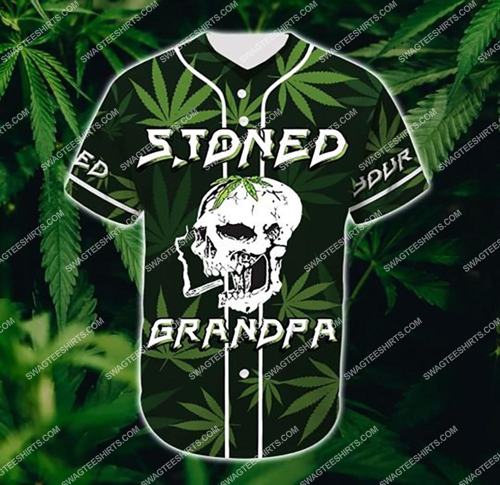 custom name stoned gift for grandpa all over printed baseball shirt 2(1)