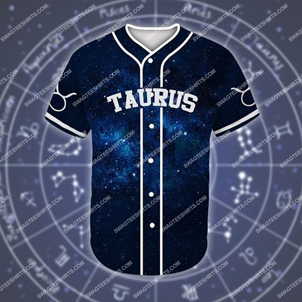 custom name taurus is mysterious zodiac all over printed baseball shirt 2(1)