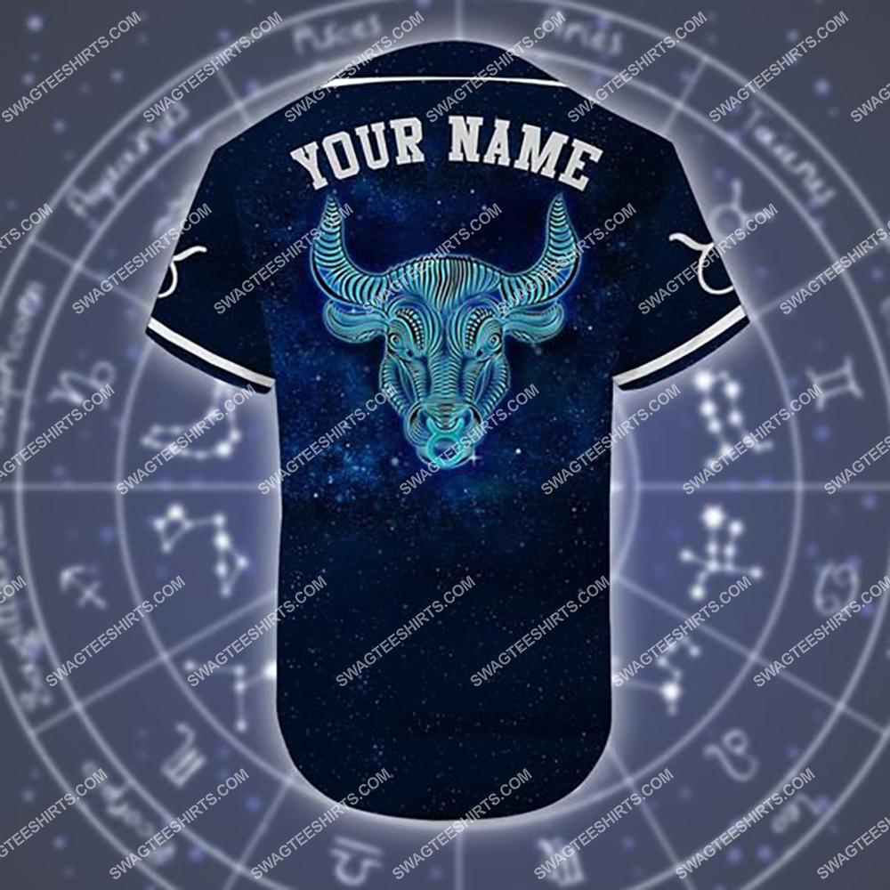 custom name taurus is mysterious zodiac all over printed baseball shirt 3(1)