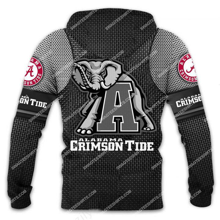 the alabama crimson tide football all over printed shirt - back 1