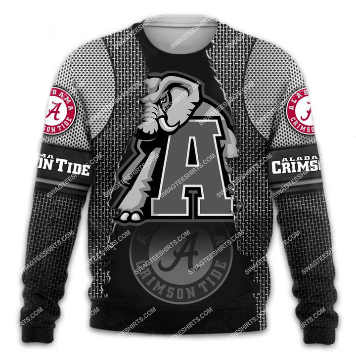 the alabama crimson tide football all over printed sweatshirt 1