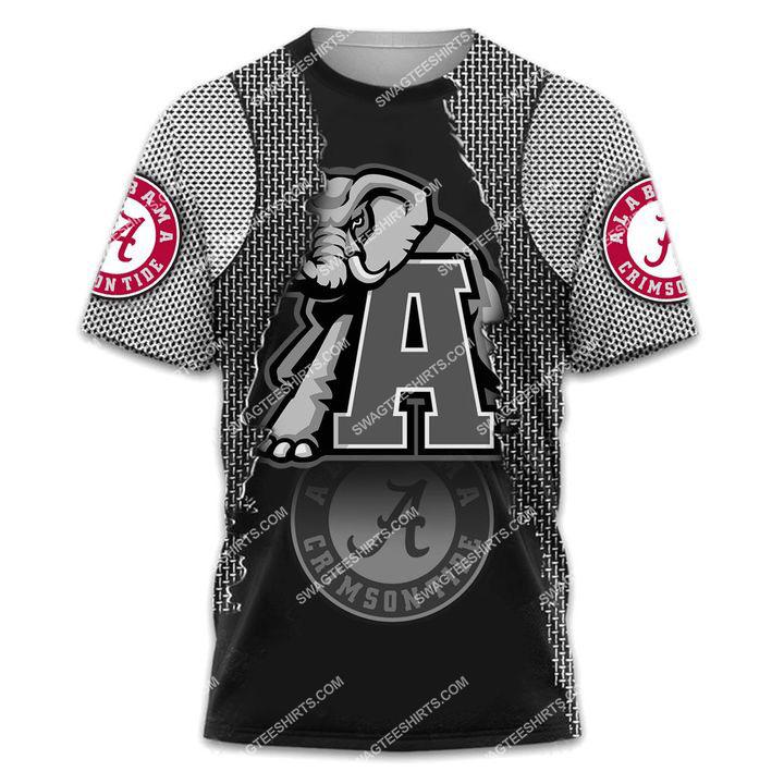 the alabama crimson tide football all over printed tshirt 1