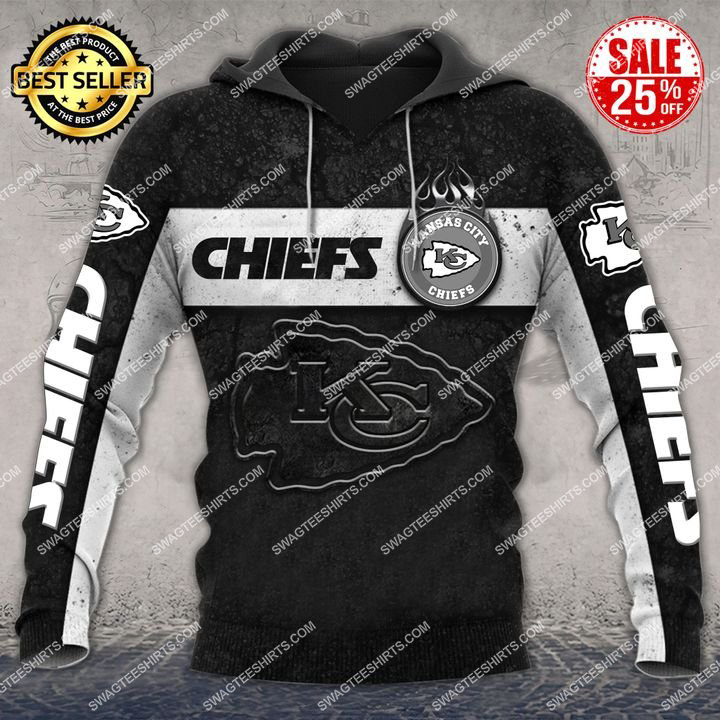 the kansas city chiefs football all over printed hoodie 1