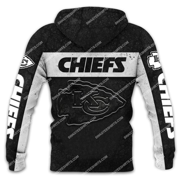 the kansas city chiefs football all over printed shirt - back 1