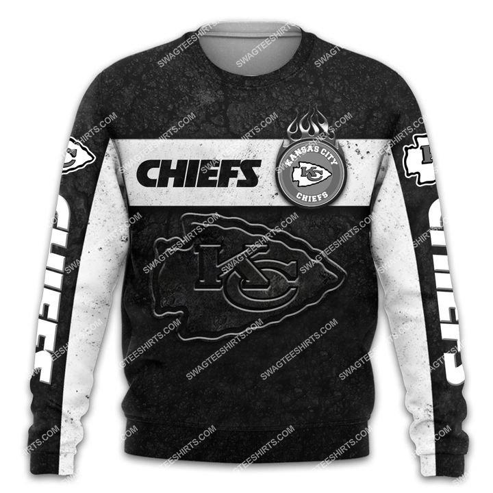 the kansas city chiefs football all over printed sweatshirt 1