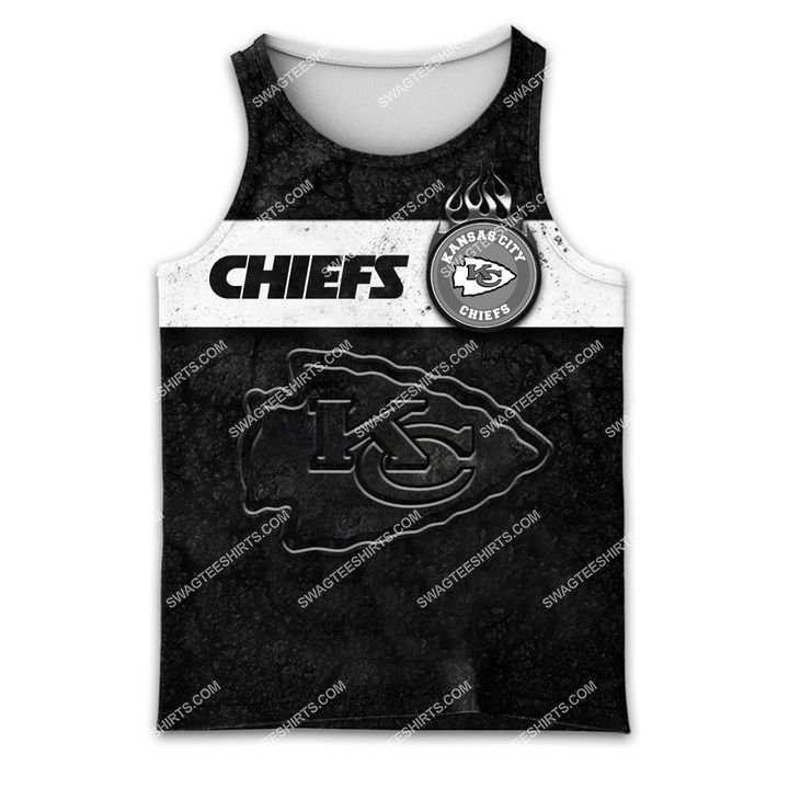 the kansas city chiefs football all over printed tank top 1