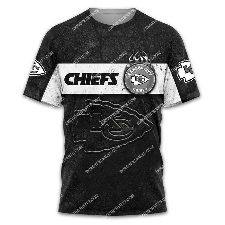 the kansas city chiefs football all over printed tshirt 1