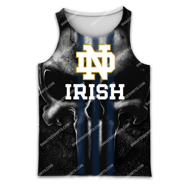 the notre dame fighting irish football all over printed tank top 1