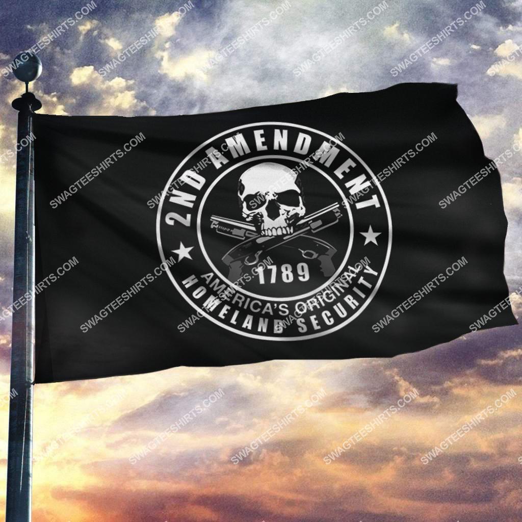 2nd amendment america's original homeland security politics flag 2(1)
