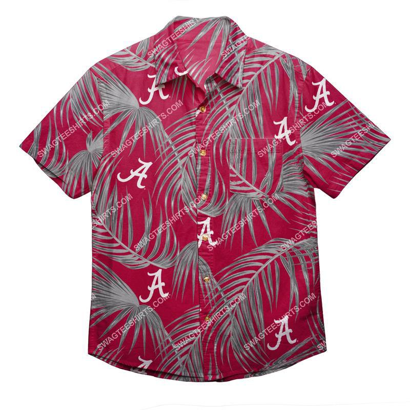 alabama crimson tide football tropical full print hawaiian shirt 1(1) - Copy