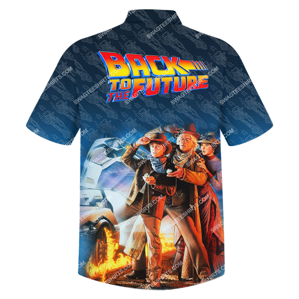 back to the future vintage all over print hawaiian shirt 3(1)
