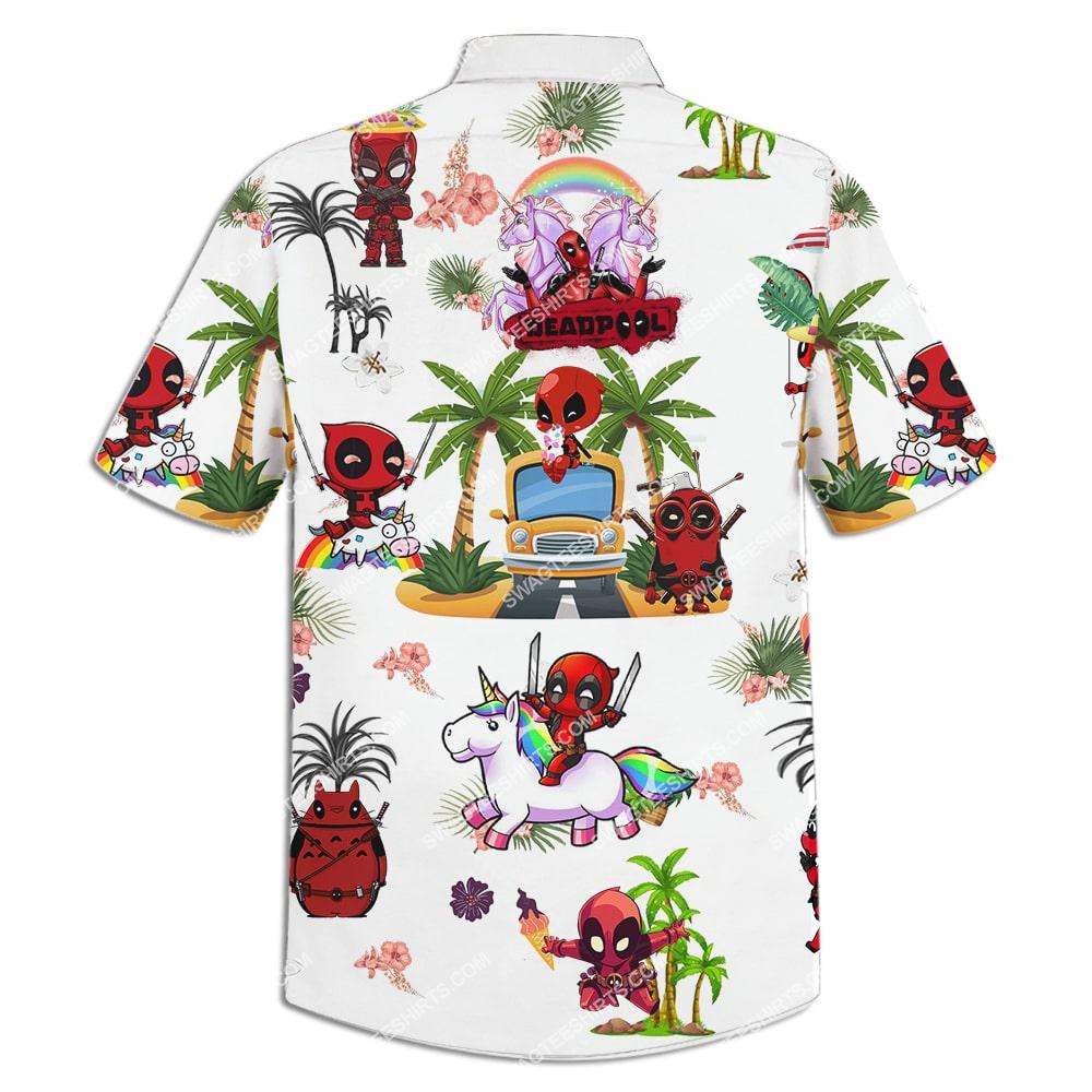 deadpool on the beach summer full printing hawaiian shirt 4(1)