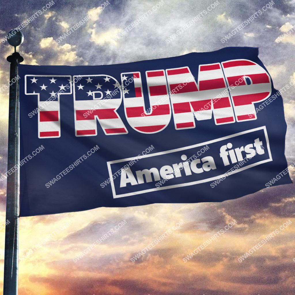 donald trump 2024 america first politics flag 2(1)