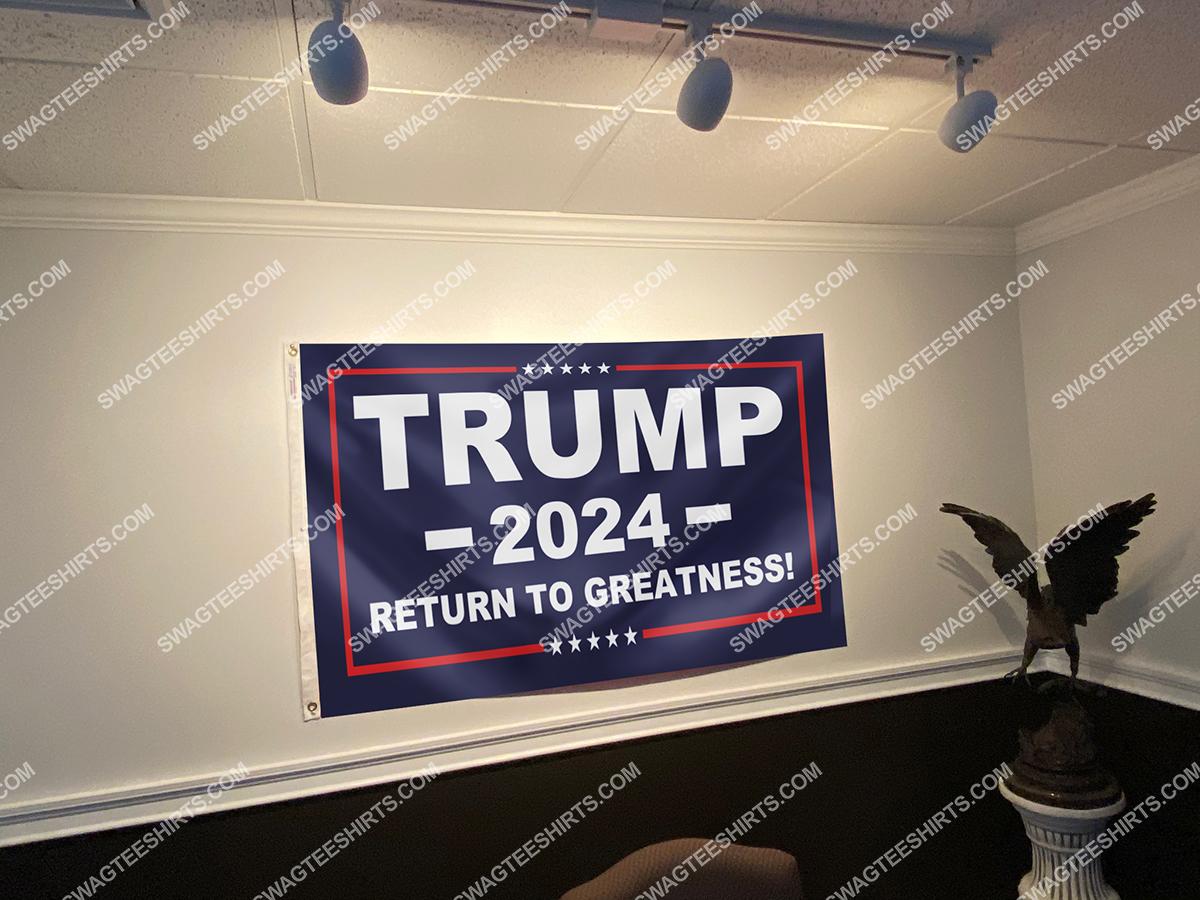 donald trump 2024 return to greatness politics flag 3(1)