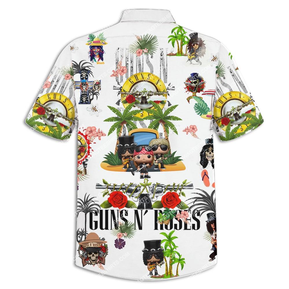 guns n' roses band full printing hawaiian shirt 4(1)
