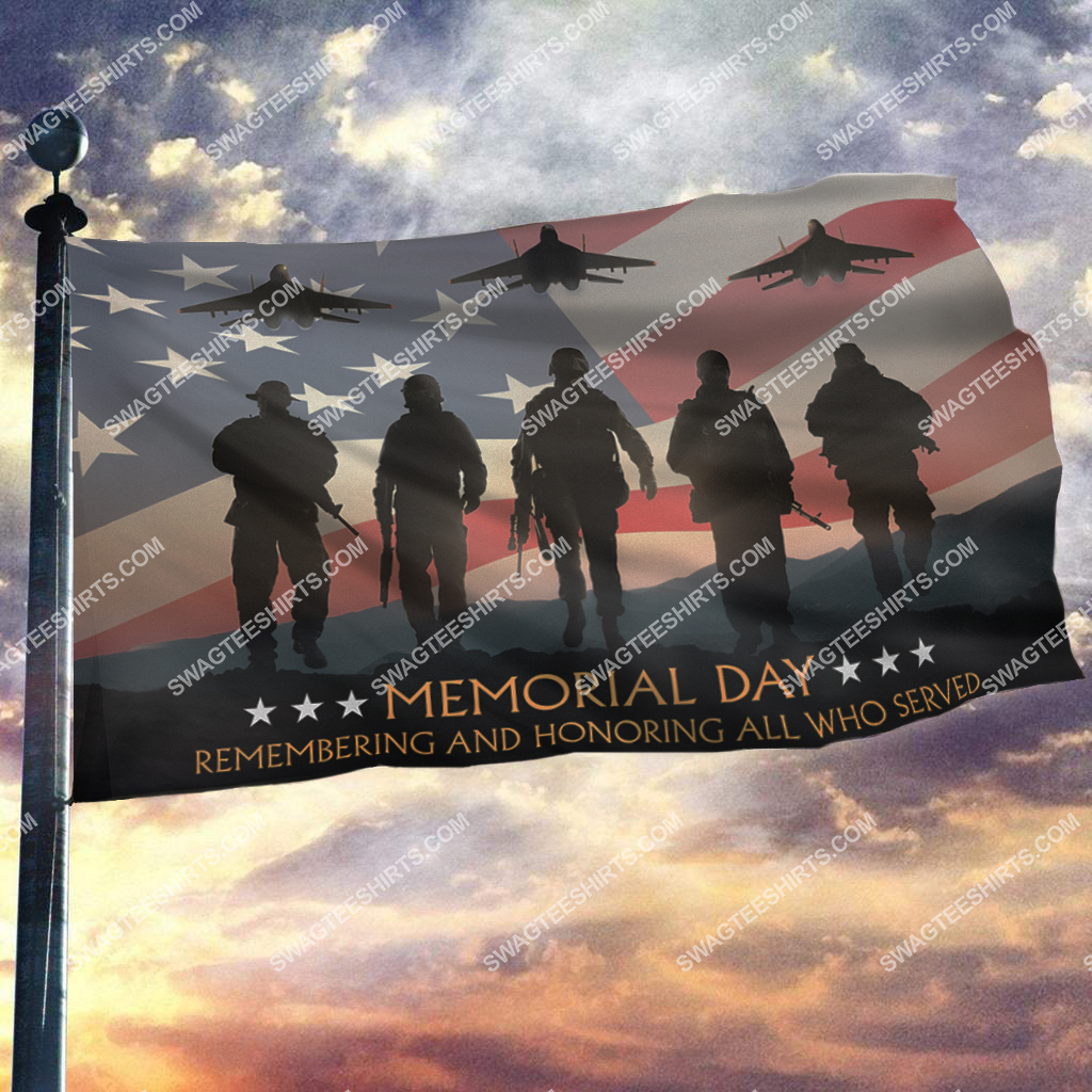 remembering and honoring those who served memorial day flag 2(1)